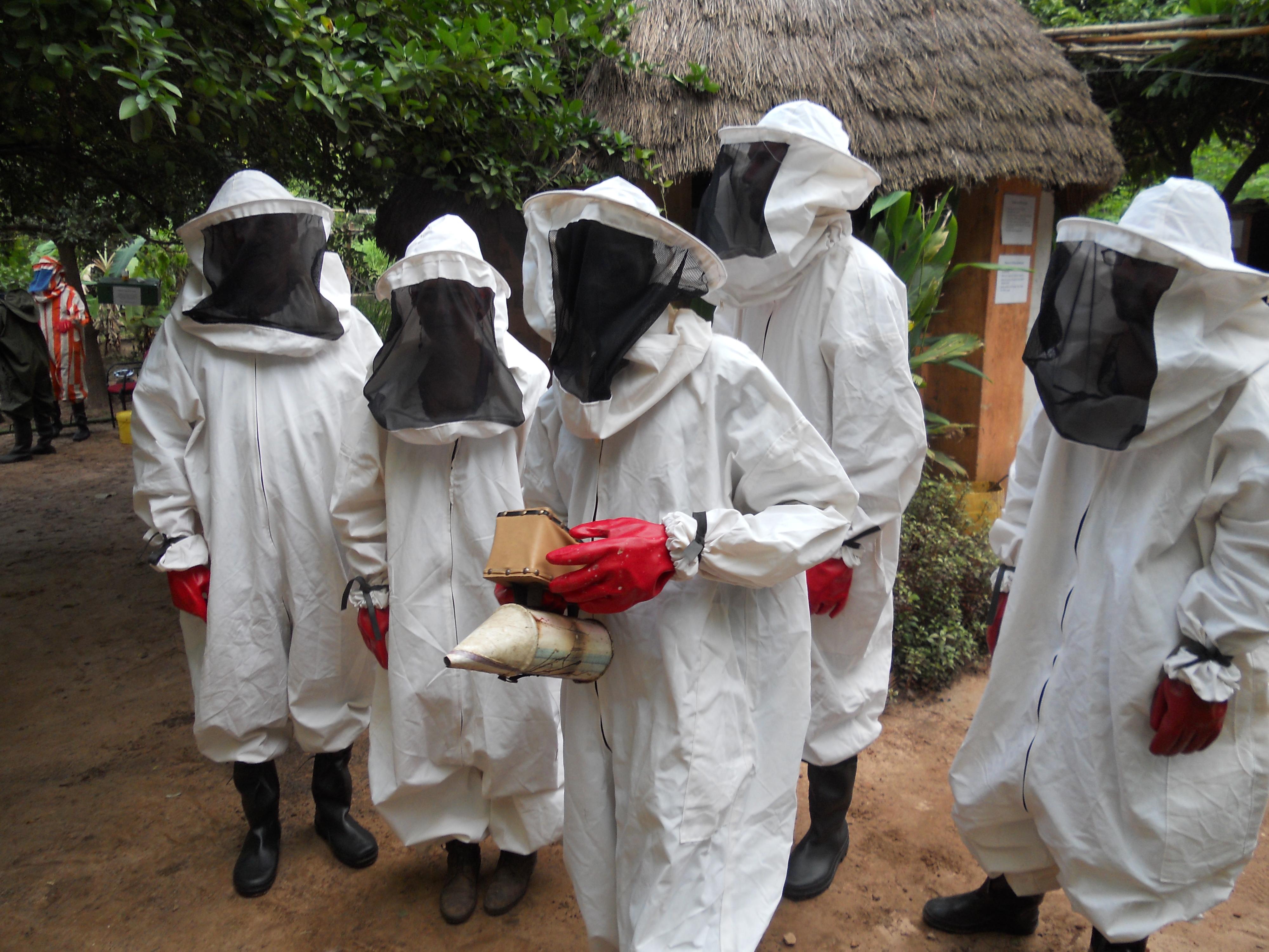 beekeepers in Ghana